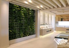 Space-saving, air-purifying and just simply elegant, #verticalgarden to breathe life and beauty into your space!