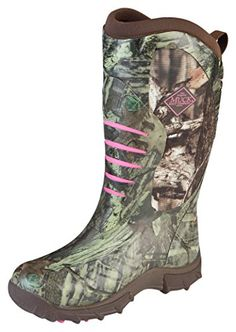 Muck Boot Womens Pursuit Stealth Women's Hunting Shoes Shoes RealtreePink 7 M US ** You can get additional details at the image link.