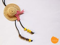 I'm back with the mini series again this week! Today I'm sharing this sweet little straw hat tutorial with you! You can use it as a brooch, an embellishment to gifts, hair accessories or anything y...