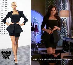 america ferrera black peplum dress | ... betty america ferrera wears the stunning black peplum mini dress from