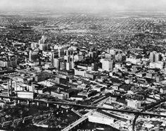 Aerial Views - Richmond, Va. c-5-12-1954  SourceNorfolk & Western Historical Photograph Collection