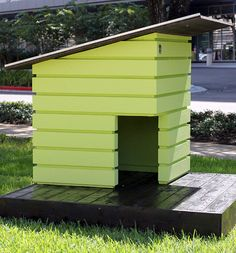 This colorful Bienenhaus is a bee castle that provides sanctuary for on signs designs, beehive plans and designs, box house designs, luxury pool house designs, food designs, cat house designs, bird designs,