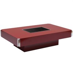 1970s Elegant Coffee Table By Willy Rizzo