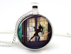 Hey, I found this really awesome Etsy listing at https://www.etsy.com/listing/213055474/peter-pan-necklace-off-to-neverland