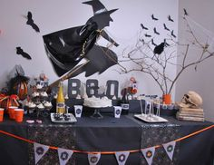 """Halloween / Halloween """"Ma Sweet Table haloween party"""" 