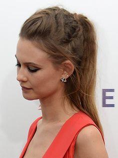 Look we love: Behati Prinsloo's Khaleesi-esque braided ponytail