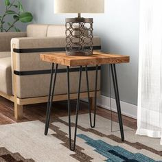 Perfect Rustic Metal And Wood End Tables Rustic Metal And Wood End Tables - This Perfect Rustic Metal And Wood End Tables ideas was upload on February, 5 2020 by admin. Here latest Rustic Met. End Table Sets, Wood End Tables, End Tables With Storage, Sofa Tables, Bedside Tables, Ikea Furniture, Rustic Furniture, Living Room Furniture, Furniture Ideas