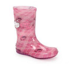 Bota Rasteira Infantil Feminina Hello Kitty 20971 Rock Boot Tam 23 Ao 34 - Rosa