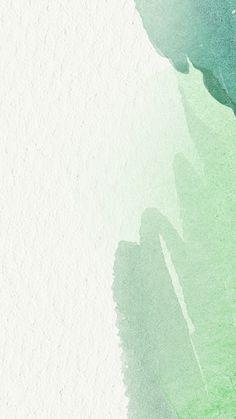 Mint Green Wallpaper Iphone, Sage Green Wallpaper, Iphone Background Wallpaper, Free Phone Wallpaper, Watercolor Wallpaper, Green Watercolor, Pastel Wallpaper, Aesthetic Backgrounds, Aesthetic Iphone Wallpaper