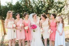 Shades of Pink | Photography: Lauren Fair Photography