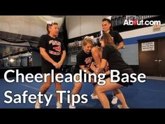 Safety Tips for Cheerleading Bases - YouTube