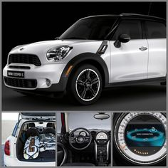 Mini Cooper countryman. The one to have to go to the beach.