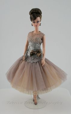 Image result for silkstone barbie by rebecca