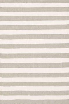 Trimaran Stripe Platinum/Ivory Indoor/Outdoor Rugs (6-Sizes)