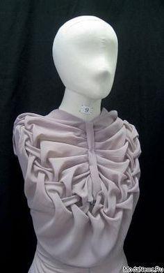 Fabric Manipulation | Fashion techniques |Embellishment Details | Obras de alumnos del Estudio Croy Moda