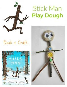 Tips For Just A Second Wedding Ceremony Anniversary Reward Stick Man Play Dough Easy Crafts For Kids, Easy Diy Crafts, Toddler Crafts, Projects For Kids, Diy For Kids, Science Projects, Creative Crafts, T Craft, Craft Stick Crafts