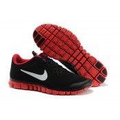 sale retailer 42f66 bedf6 Billigaste Nike Free 3.0 v2 Herr Löparskor Stort Nätverk Svart Röd Vit  Clearance Rea 2014 Beställa