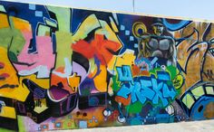 Graffiti - Downtown LA - Photograph by Andrew Kavanagh