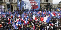 """France. Au 1er mai 2015 du FN, entre adorateurs de Jean-Marie Le Pen et """" furoncles """" de l'extrême droite."""