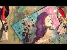 ▶ Starry, Hearty Night with Jane Stencils. :) - YouTube