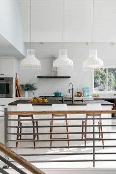 HGTV Dream Home 2018: A Modern, White Marble Kitchen