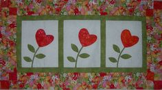 Byrdsnestquiltshop.com - Event: Trio of Hearts Beginner Applique ...