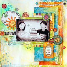 Scrapperlicious: Believe Layout by Irene Tan using BoBunny Believe collection
