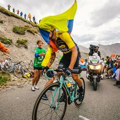Primoz Roglic on the Galibier. Respect the riders, keep this sport unique! photo credit @roelservice IG