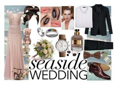 """""""Sister of the bride #3"""" by fathi-ishak ❤ liked on Polyvore featuring Adrianna Papell, Bouquets, LC Lauren Conrad, Damiani, Paul Smith, Valentino, Jean-Paul Gaultier, Givenchy, Theory and JewelGlo"""