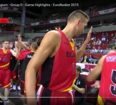 #EuroBasket2015 #basketbelgium: les #BelgianLions surclassent l'Estonie - vidéo