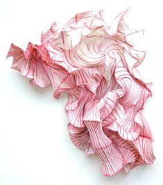 Sculpture papier de Peter Gentenaar