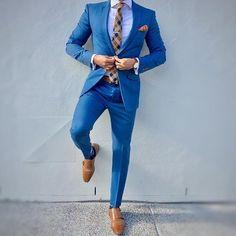 "Gefällt 117 Mal, 3 Kommentare - #HQMenswear (@hqmenswear) auf Instagram: ""Excellent combination by @the_classy_lad"" #menssuit"