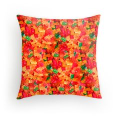 Gummy Bears Throw Pillow - Available Here: http://www.redbubble.com/people/rapplatt/works/11848571-gummy-bears?p=throw-pillow