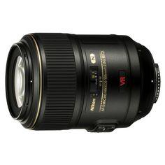 NikonAF-S 105mm f/2.8 VR IF-ED Nikkor Macro Lens