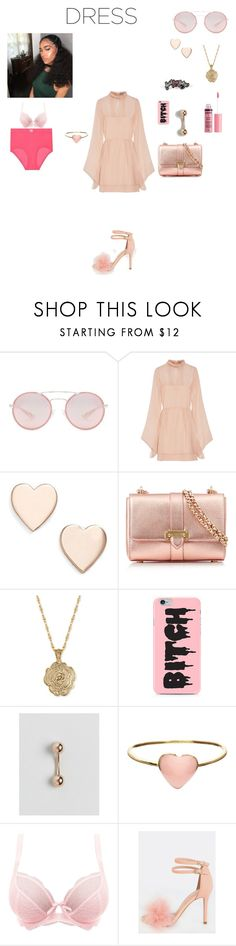 """""""Party dress and getting all dolled up 💖"""" by groovegoddess18 ❤ liked on Polyvore featuring Prada, Emilio Pucci, Poppy Finch, Aspinal of London, 2028, ASOS, Orelia, Freya, Charlotte Russe and mydreamoutfit"""