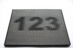 zwarts en jansma parametric design for brick surfaces pattern pinterest aussen struktur. Black Bedroom Furniture Sets. Home Design Ideas