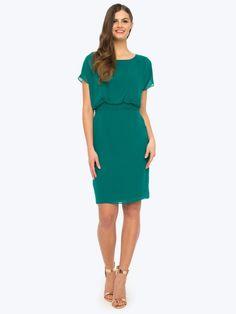 Zwiewna sukienka z kryształkami Swarovskiego ROCO Dresses For Work, Fashion, Moda, Fashion Styles, Fashion Illustrations