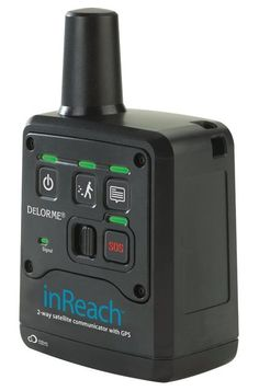 a satellite device that lets you send text messages from your cell phone even if your phone can't connect to the Internet or phone service. DeLorme inReach for iOS & Android - USD Radios, Cool Technology, Technology Gadgets, Gadgets And Gizmos, Tech Gadgets, Cheap Gadgets, Security Gadgets, Awesome Gadgets, Survival Prepping