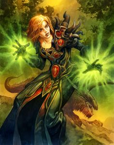 Let's share our favorite Warcraft fan-art! - Page 53 Character Portraits, Character Art, Character Reference, Fantasy Characters, Female Characters, Magic Realms, Black Mage, Fantasy Comics, Wow Art