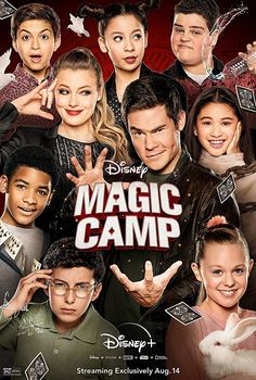 Magic Camp (2020) Andy, at the urging of his former mentor and Magic Camp owner Roy Preston, returns as a counselor to the camp of his youth hoping to reignite his career. Adam Devine, 2020 Movies, Hd Movies, Movies Online, Disney Movies, Netflix, Magic Mike, Preston, Disney Magic
