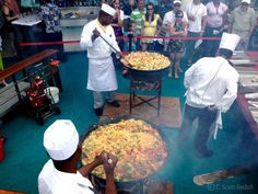 Cruise Photo of the Day - June 20, 2012.  Paella Poolside. Mariner of the Seas.  More cruise ship photos at CruiseCrazies.com.  #cruise #cruising #cruiseship #cruisevacation #cruisecrazies