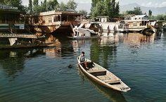 Auf einem Hausboot in Kaschmir.