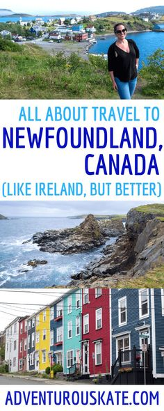 Travel to Newfoundland, Canada, and You'll Never Want to Leave - Adventurous Kate : Adventurous Kate Newfoundland Canada, Newfoundland And Labrador, Alaska, Places To Travel, Places To Go, Alberta Travel, Canadian Travel, Canadian Rockies, Visit Canada