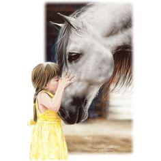 She loved her horse
