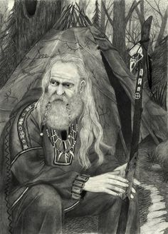 "Exploring the shamanic side of Odin: Odin is described in written literature as having a number of names, titles, and responsibilities. One of those roles he is known for is as a Shaman. In the Ynglinga Saga, it tells of Odin's many journeys to other lands in the pursuit of knowledge and wisdom. In ""Baldur's Dreams"", found in the Eddic poem, Odin rides his horse Sleipnir into the Underworld to converse with the völva. Through Freyja..."