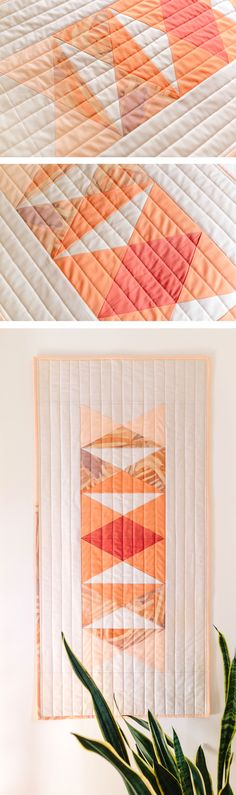 A modern paper piecing tutorial and pattern