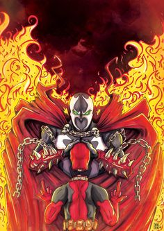 #Deadpool #Fan #Art. (Spawn vs Deadpool (final) By: Cnerone21. ÅWESOMENESS!!!!™ ÅÅÅ+