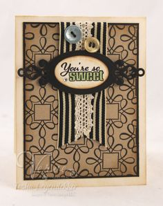 Card by Tosha Leyendekker using Verve Stamps.