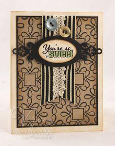 Card by Tosha Leyendekker using Verve Stamps.