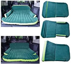 Thickened flocking bed in the car car car inflatable mattress mattress car vans…